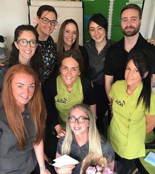 Alba Spinal Health Centre Team Warrington, UK.